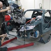 CR-Zレースカー製作中 その2