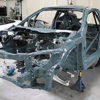 CR-Zレースカー 製作中