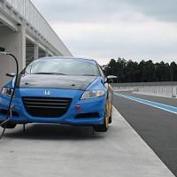 CR-Zレースカー シェイクダウン