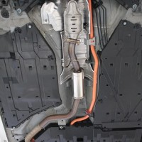 CR-Z アンダーカバー装着