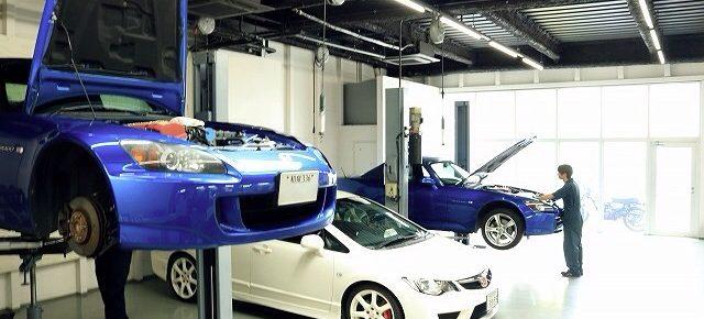 青い2台のAP2